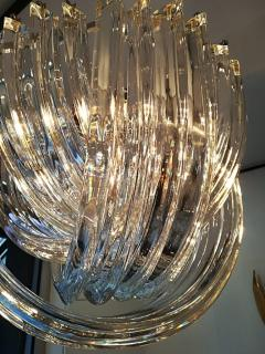 Carlo Nason Murano Curved Crystal Chandelier by Carlo Nason - 1114120