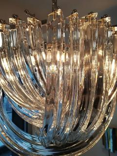 Carlo Nason Murano Curved Crystal Chandelier by Carlo Nason - 1114122