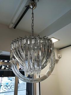 Carlo Nason Murano Curved Crystal Chandelier by Carlo Nason - 1114124