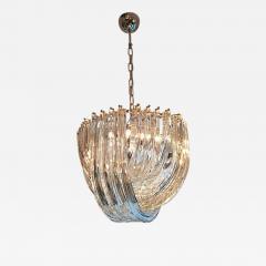 Carlo Nason Murano Curved Crystal Chandelier by Carlo Nason - 1114725