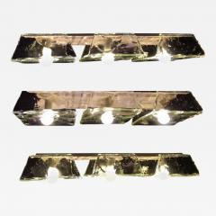 Carlo Nason Pair of Murano Pendants of Murano by Nason for Mazzega 1970s - 1528838