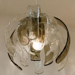 Carlo Nason Pair of Sculptural Artichoke Chandeliers by Carlo Nason for Mazzega Italy - 996114