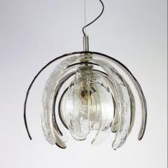 Carlo Nason Pair of Sculptural Artichoke Chandeliers by Carlo Nason for Mazzega Italy - 1314920