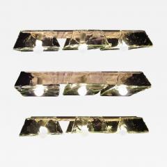 Carlo Nason Three Murano Pendants of Murano by Nason for Mazzega 1970s - 637735
