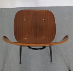 Carlo Ratti 8 Dining Chairs in Plywood Mod Lulli  - 2071247