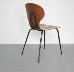 Carlo Ratti 8 Dining Chairs in Plywood Mod Lulli  - 2071249