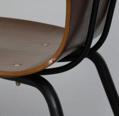 Carlo Ratti 8 Dining Chairs in Plywood Mod Lulli  - 2071253