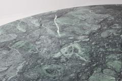 Carlo Scarpa Carlo Scarpa Dining Table Samo in a Rare Green Marble 1970s - 984860