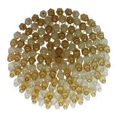 Carlo Scarpa Carlo Scarpa Mid Century Poliedri Murano Glass Pendant Lamp Italy 1960s - 845941