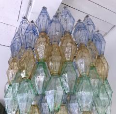 Carlo Scarpa Chandelier Carlo Scarpa Venini Murano Polyhedron Glass Italy 1960s - 775382