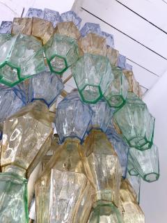 Carlo Scarpa Chandelier Carlo Scarpa Venini Murano Polyhedron Glass Italy 1960s - 775388