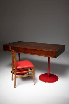 Carlo Scarpa Italian 1960s Wood Desk - 1574951
