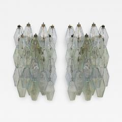 Carlo Scarpa Pair of Sconces Mod Poliedri Designed by Carlo Scarpa Edited by Venini - 508662