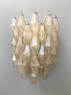 Carlo Scarpa Pair of Wall Lights Poliedri by Carlo Scarpa for Venini - 1004259