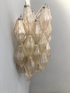 Carlo Scarpa Pair of Wall Lights Poliedri by Carlo Scarpa for Venini - 1004264