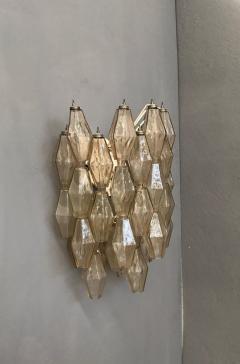 Carlo Scarpa Pair of Wall Lights Poliedri by Carlo Scarpa for Venini - 1004265