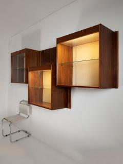 Carlo Scarpa Set of Three Wall Cabinets - 1310136