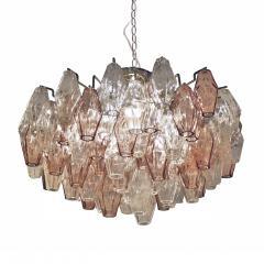 Carlo Scarpa Suspension Lamp Model Poliedri Designed by Carlo Scarpa and Edited by Venini - 1069565