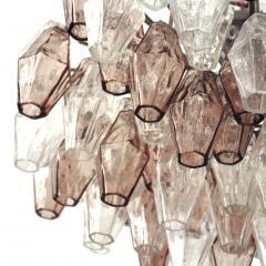Carlo Scarpa Suspension Lamp Model Poliedri Designed by Carlo Scarpa and Edited by Venini - 1069568