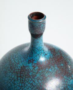 Carlo Zauli Studio Built Ceramic Bottle by Carlo Zauli - 352556