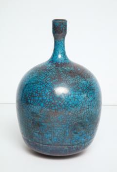 Carlo Zauli Studio Built Ceramic Bottle by Carlo Zauli - 352557