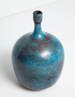 Carlo Zauli Studio Built Ceramic Bottle by Carlo Zauli - 352559