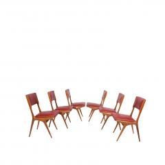 Carlo de Carli Carlo De Carli set of six side chairs - 1679347
