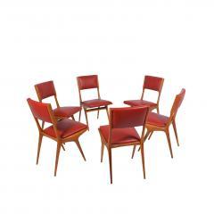 Carlo de Carli Carlo De Carli set of six side chairs - 1679349