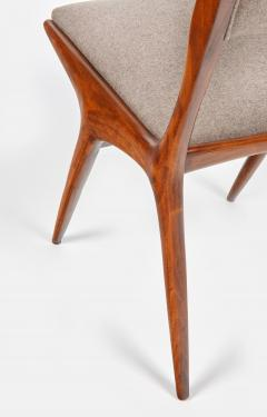 Carlo de Carli Carlo de Carli Mod 158 Set of Six Dining Chairs Italy 1953 - 916243