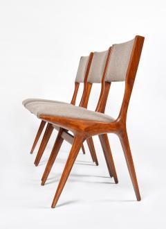 Carlo de Carli Carlo de Carli Mod 158 Set of Six Dining Chairs Italy 1953 - 916244