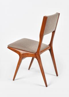 Carlo de Carli Carlo de Carli Mod 158 Set of Six Dining Chairs Italy 1953 - 916245