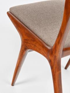 Carlo de Carli Carlo de Carli Mod 158 Set of Six Dining Chairs Italy 1953 - 916247