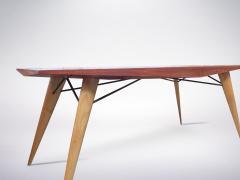 Carlo de Carli Carlo de Carli for Tecno Rare Mid Century Wooden Table 1950s - 940370