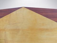 Carlo de Carli Carlo de Carli for Tecno Rare Mid Century Wooden Table 1950s - 940375
