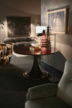 Carlo de Carli Carlo di Carli Carlo De Carli Mod 180 For Sormani Round Dining Table Italy 1963 - 1834903