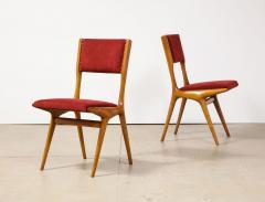 Carlo de Carli Carlo di Carli Set of 10 634 Dining Chairs by Carlo de Carli for Cassina - 2102045