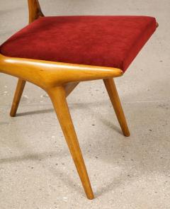 Carlo de Carli Carlo di Carli Set of 10 634 Dining Chairs by Carlo de Carli for Cassina - 2102051