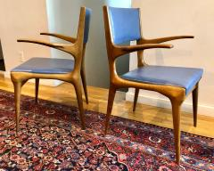 Carlo de Carli Pair of Carlo de Carli Model 162 Armchairs - 1112020