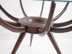 Carlo de Carli Wooden Spider Leg Coffee Table by Carlo de Carli - 1397974
