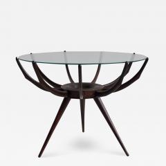 Carlo de Carli Wooden Spider Leg Coffee Table by Carlo de Carli - 1401590