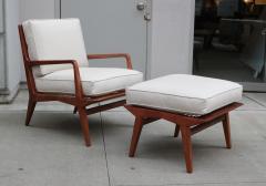 Carlo di Carli Mid Century Modern Lounge Chair and Ottoman - 1591156