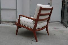 Carlo di Carli Mid Century Modern Lounge Chair and Ottoman - 1591160