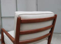Carlo di Carli Mid Century Modern Lounge Chair and Ottoman - 1591161
