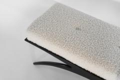 Carlos Solano Granda Ebonized Convex Bench by Stamford Modern - 2054022