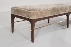 Carlos Solano Granda Natural Walnut Linear Bench by Stamford Modern - 2131174
