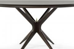 Carlos Solano Granda Stamford Moderns Gazelle Dining Table in Walnut - 1095702