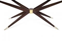 Carlos Solano Granda Walnut Sputnik Console Table - 327191