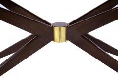 Carlos Solano Granda Walnut Sputnik Console Table - 327192