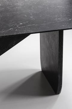 Carlyle Collective Black Marquina Dining Table - 570069