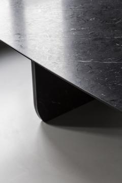 Carlyle Collective Black Marquina Dining Table - 570071